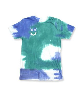 Duvin Design Co. Flower Child Blue Short Sleeve Tee