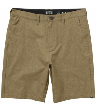 Billabong Surftrek Khaki Heather Perf Shorts