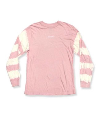 Duvin Design Co. Sleeves Long Sleeve Pink Tee