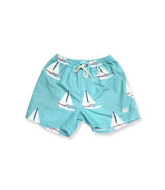 "Duvin Design Co. Day In Paradise 15"" Volley Short"