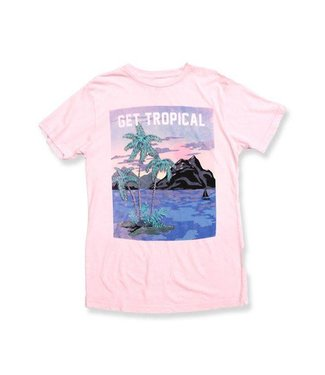 Duvin Design Co. Tropical Pink Short Sleeve Tee