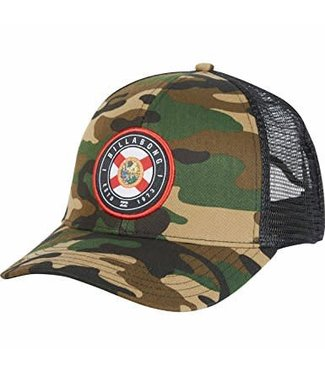 Billabong Native Florida Rotor Trucker Camo Hat