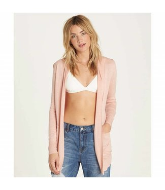 Billabong Line Games Pearl Pink Sweater