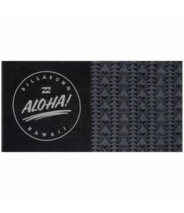 Billabong Aloha Black and Grey Towel