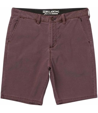 "Billabong New Order X Overdye Submersible 19"" Rum Shorts"