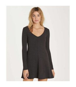 Billabong Go Along Black Dress