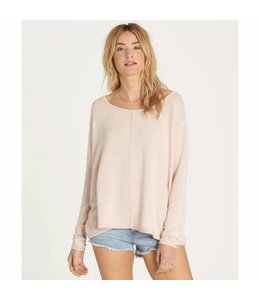 Billabong From Here Pearl Pink Top