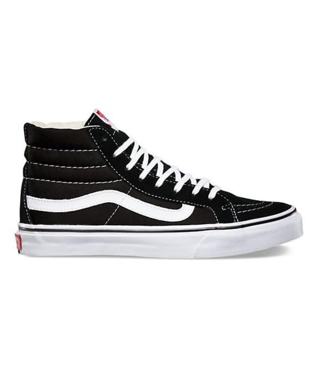 Vans Sk8-Hi Slim Black/White Shoes