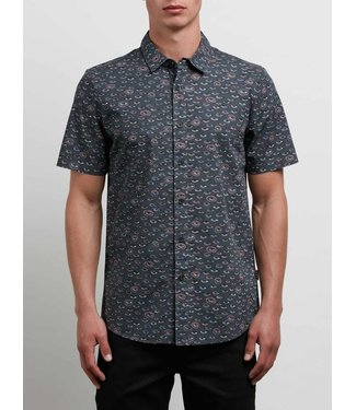 Volcom Burch Stealth Short Sleeve Buttondown