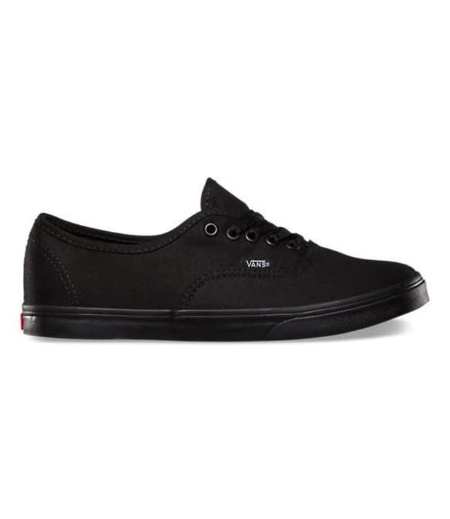 vans authentic lo pro czarne