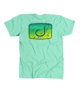 Avid Mahi Fish Fill Mint Tee