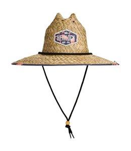 Flock Straw Lifeguard Hat