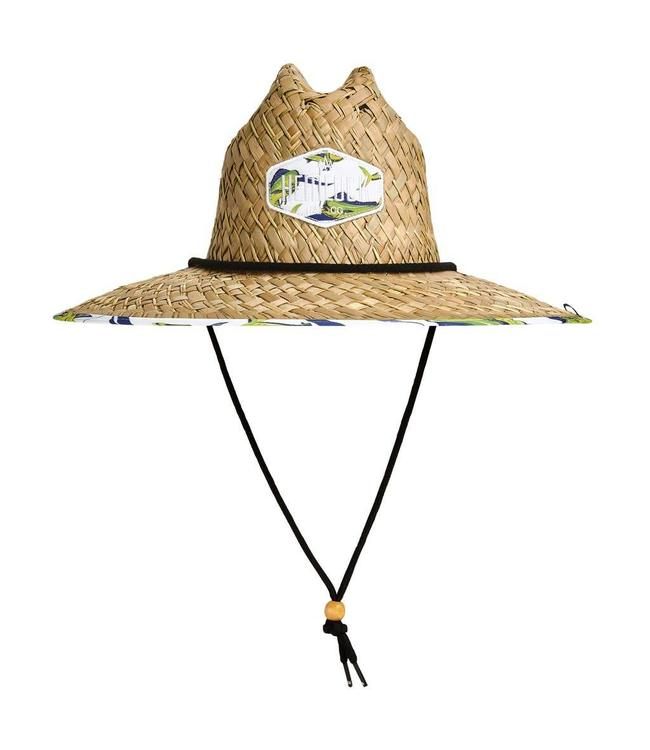 Hemlock Hat Co. Good Fight Straw Lifeguard Hat