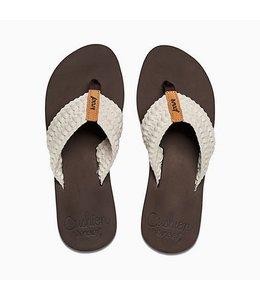 Reef Cushion Threads Vintage White Sandals