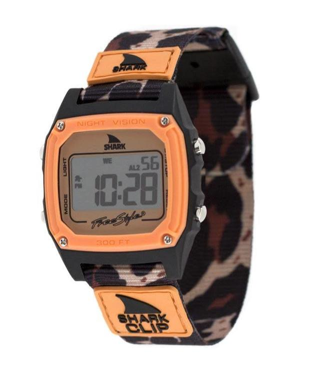 FREESTYLE Sage Erickson Orange Leopard Shark Classic Clip