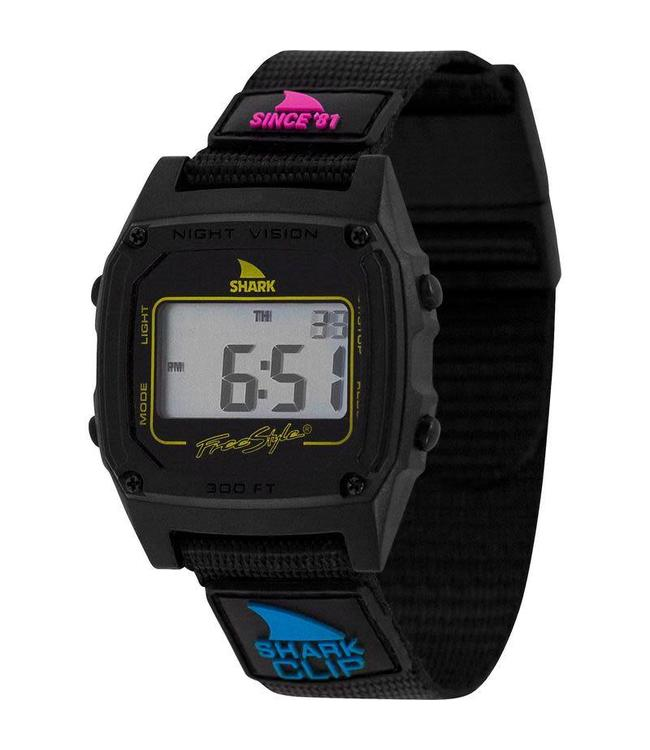 FREESTYLE Shark Classic Clip Since 81' Primary Black Watch