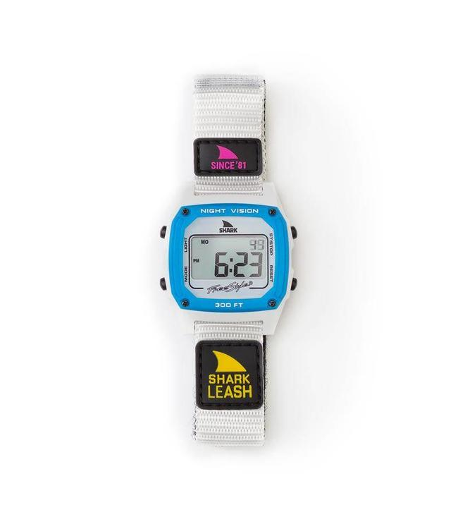 FREESTYLE Shark Classic Leash Since 81' Neon Night Watch