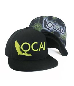 The Local Brand Uncharted Black Snapback Hat