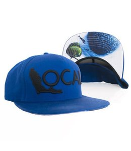 The Local Brand Deep Sea Blue Snapback Hat