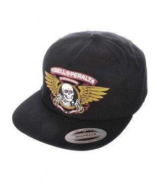 POWELL PERALTA Winged Ripper Black Hat