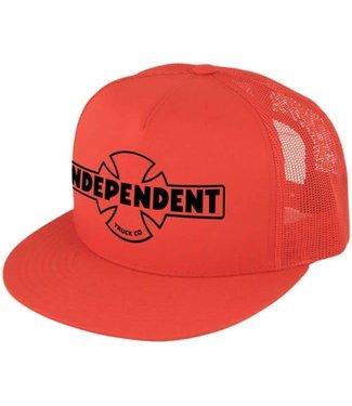 Independent OG Flex Fit Red Trucker Mesh Hat