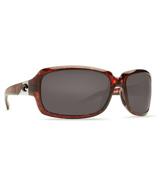 Costa Del Mar Isabela Tort 580G Gray Lens Sunglasses