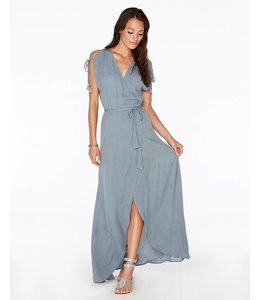 L Space Wrapper Slated Glass Maxi Dress