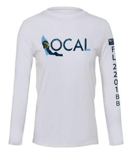 The Local Brand Deep Sea White Performance Shirt
