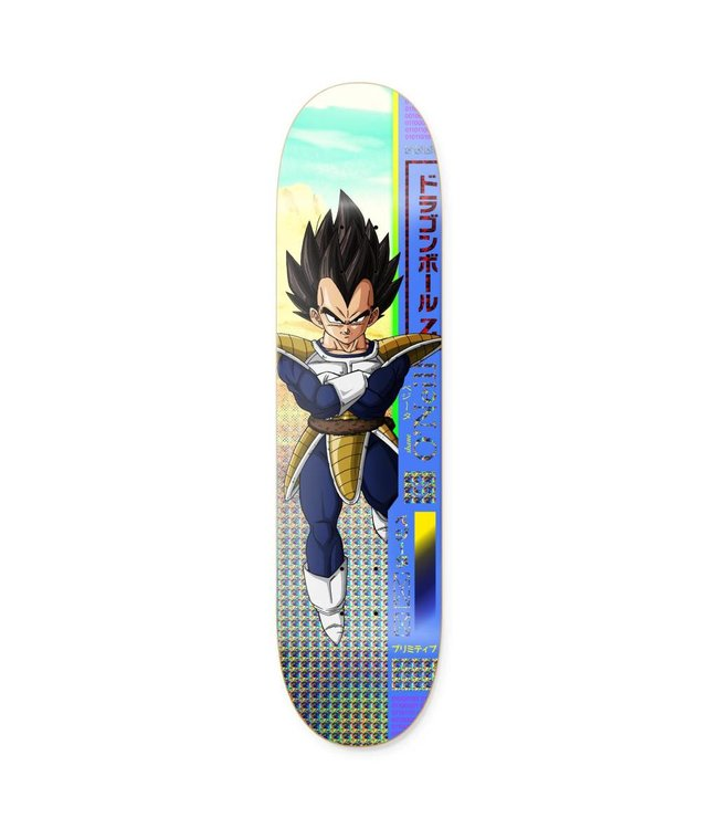 "Primitive Skateboarding x Dragon Ball Z Shane O'Neill Vegeta Deck - 8.25"""