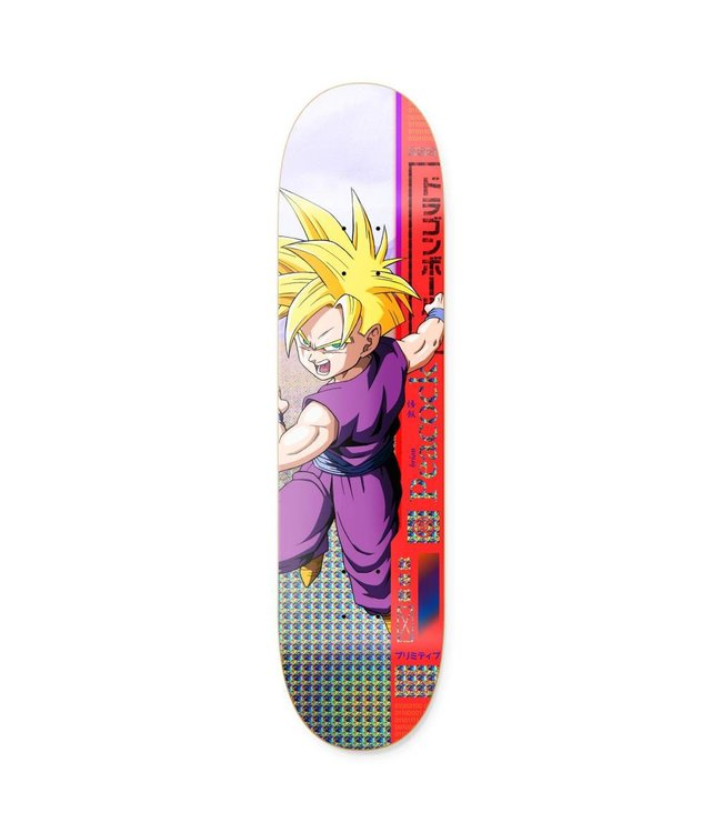 Primitive Skateboarding x Dragon Ball Z Brian Peacock Gohan Deck - 8.0""