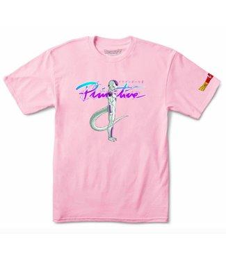 Primitive Skateboarding x DBZ Nuevo Frieza Pink Tee