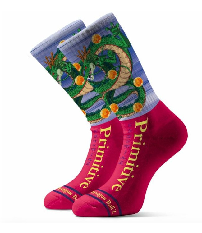 Primitive x DBZ Shenron Socks