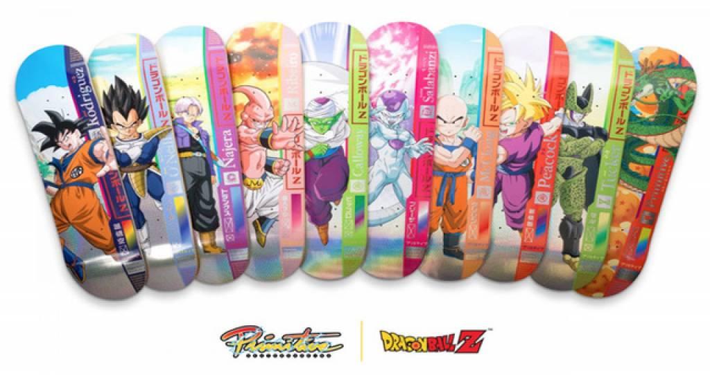 Primitive Skateboards x Dragon Ball Z Drop 1 are Ready To Go Super Saiyan!