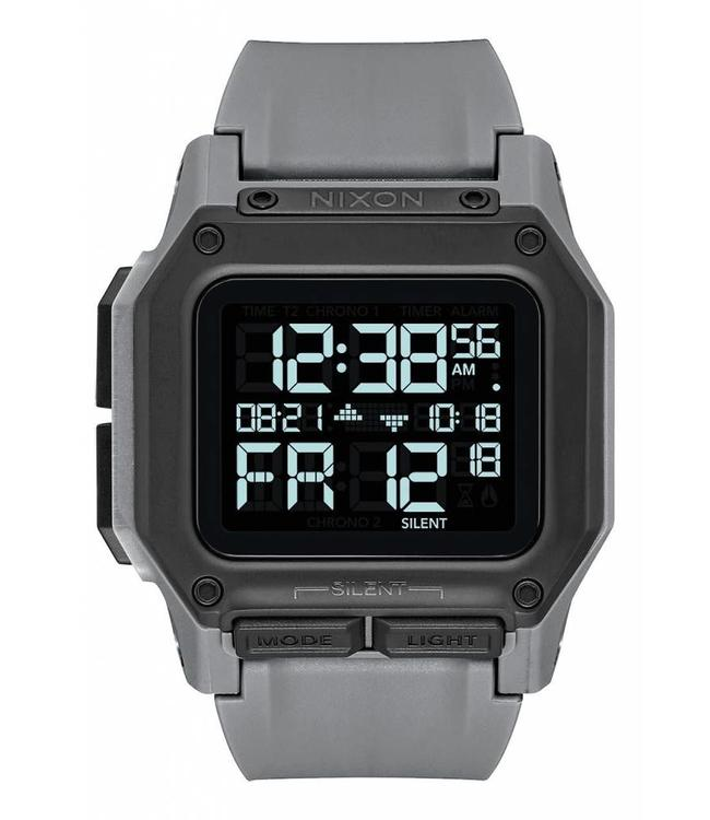 Nixon Regulus All Gunmetal 48mm Watch