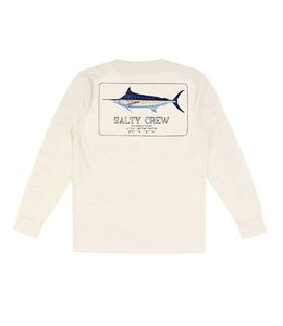 Salty Crew Marlin Mount White Tech Shirt