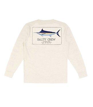 Salty Crew Marlin Mount White Tech Shirt