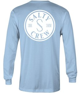 Salty Crew Topwater Light Blue Long Sleeve Tee