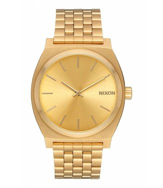 Nixon Time Teller All Gold 37mm Watch