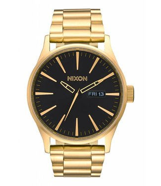 Nixon Sentry SS All Gold / Black 42mm Watch