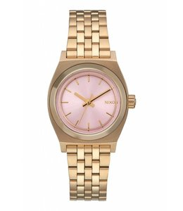 Nixon Time Teller Small  Light Gold / Pink 26mm Watch