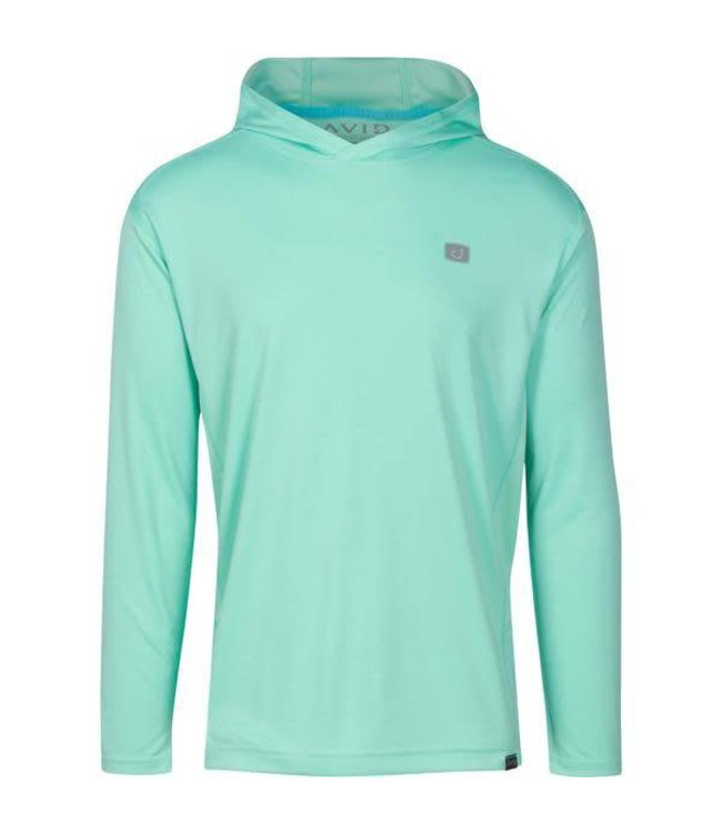 Avid Kinetic Hooded AVIDry Lucite Green Tech Tee
