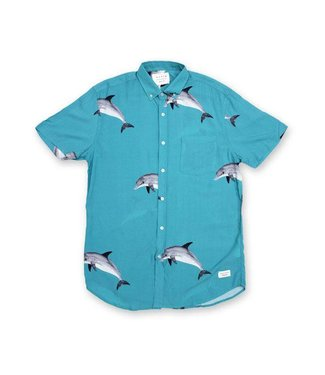 Duvin Design Co. Dolfun Turquoise Buttondown Shirt