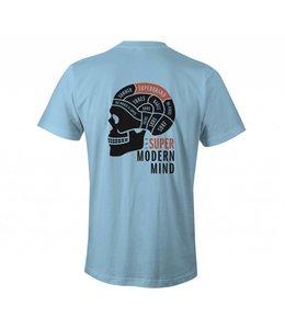 SUPER BRAND Modern Mind Blue Tee
