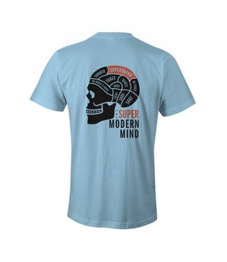 SUPER BRAND Modern Mind Blue Tee
