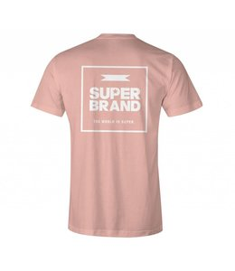 SUPER BRAND Squared Coral Tee
