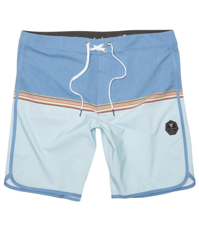 "VISSLA Dredges 20"" Blue Wash Boardshorts"