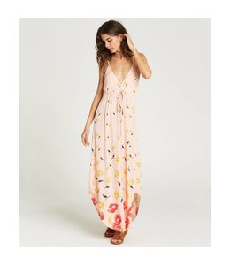 Billabong Like Minded Peaches Midi Dress