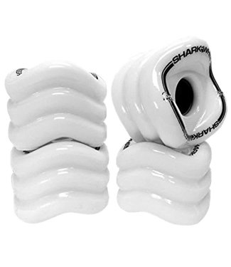 SHARK WHEEL Sidewinder Mako White 70mm Wheels