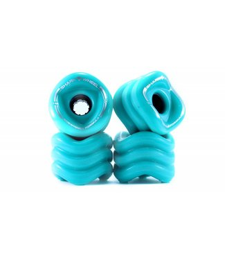 SHARK WHEEL Sidewinder Turquoise 70mm Wheels