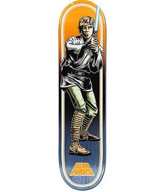 "Santa Cruz x Star Wars Luke Skywalker 7.8"" Orange Deck"